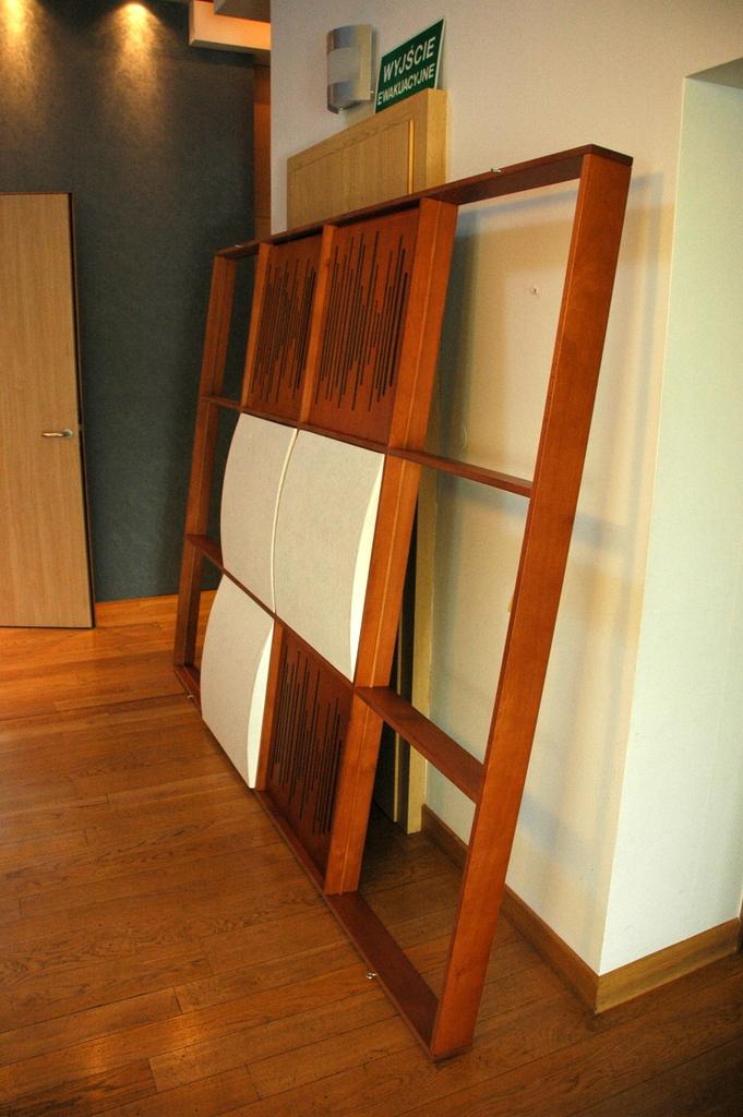 panele akustyczne kratownica