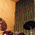 panele akustyczne listwowe